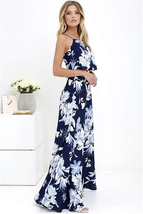 maxi dress 2 lovely blue floral print dress two dress maxi