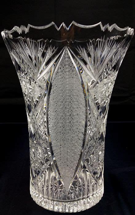 vasi cristallo boemia vaso boemia in cristallo soffiato a bocca catawiki