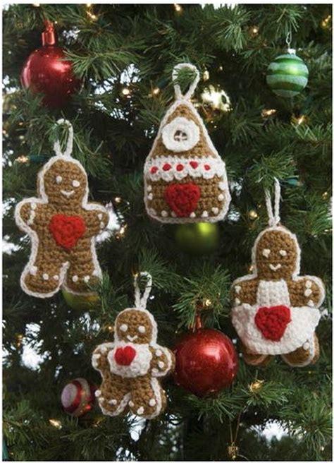 crochet patterns ornaments gingerbread crochet ornaments allfreecrochet