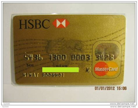 Master Gift Card - thailand hsbc master card credit debit atm gift card buyer check