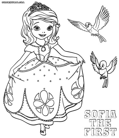 sofia the coloring pages coloring pages sofia the colorings to