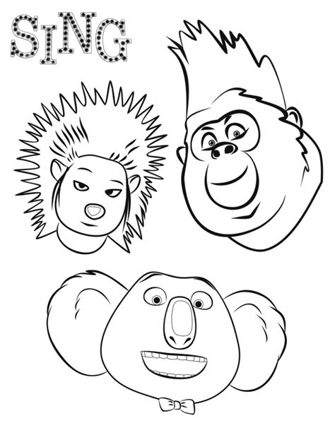 printable coloring pages for cing sing coloring pages best coloring pages for kids