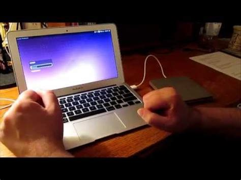 how to install ubuntu on macbook how to install ubuntu 14 04 on a macbook air youtube