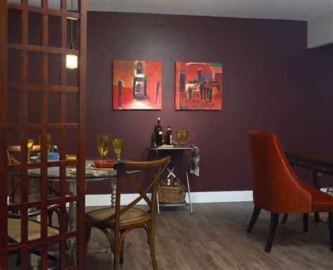 eggplant purple  rooms rich
