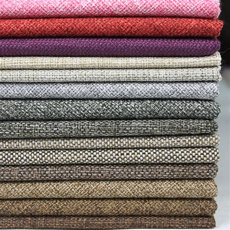 best fabric for sofa upholstery sofa fabric material linen woven knit fabric price per
