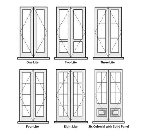 2 door French Doors   Westpine Joinery