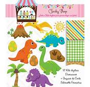 10 Kits Scrapbook Digital Dinossauro  Molde Forminhas