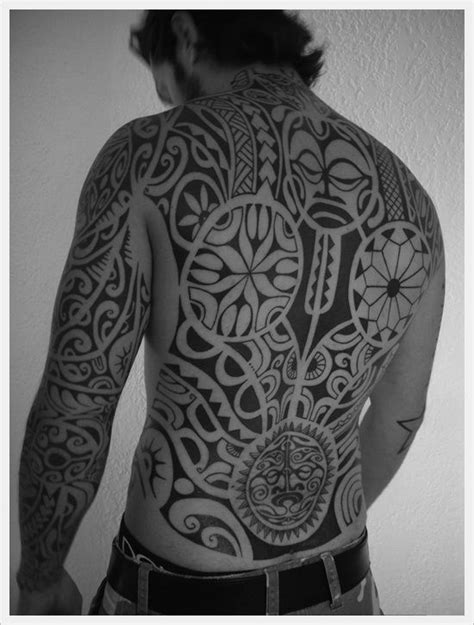 35 full body tribal tattoos
