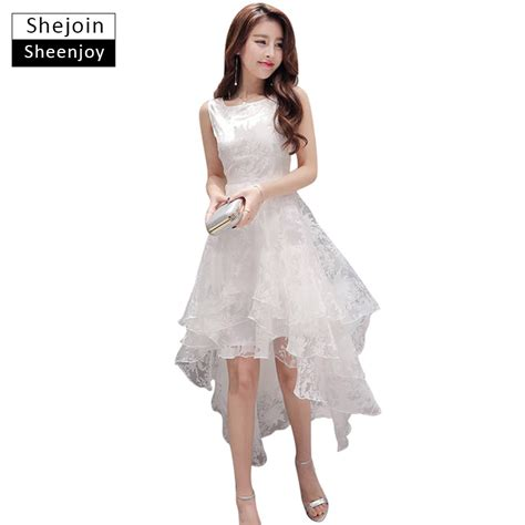 shejoinsheenjoy summer maxi dress 2017 o neck sleeveless sweet gown white organza