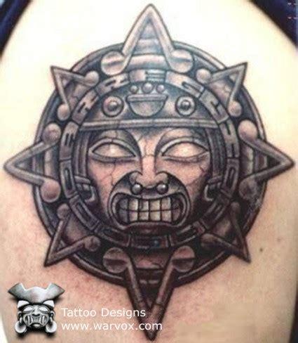 aztec sun tattoo designs aztec sun aztec tattoos aztec mayan inca