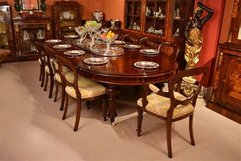 antique ft victorian dining table    chairs