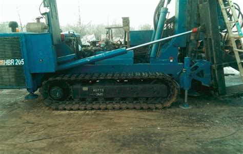 hutte hbr 205 hutte hbr 205 gt for sale used hutte hbr 205 gt rotary