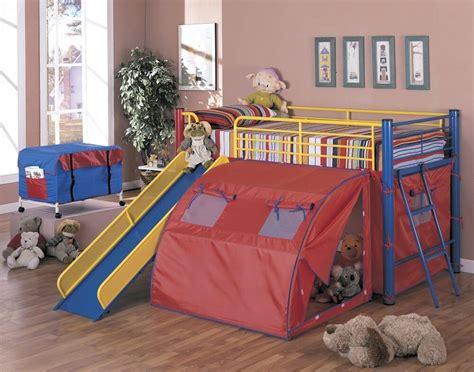 Toddler Bunk Bed With Slide Top 10 Loft Beds With Slides