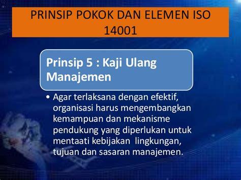 5 Elemen Berpikir Efektif H683 iso 14001