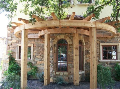 arbor exterior dallas  allen rustic wood designs