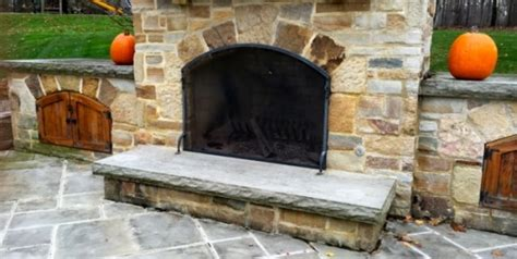 Outdoor Fireplace Screens by Image Gallery Outdoor Fireplace Screen