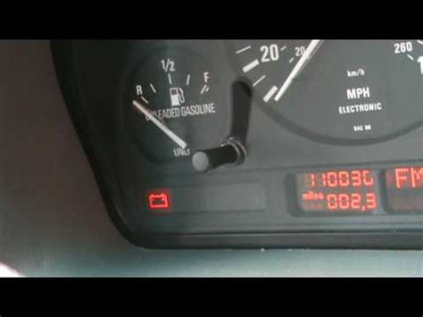 bmw check engine light 1995 bmw 540i 6 speed check engine light youtube