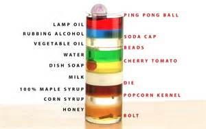 how to make this amazing 9 layer density tower from things found in your kitchen 171 science