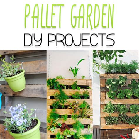 diy garden projects pallet garden diy projects the cottage market