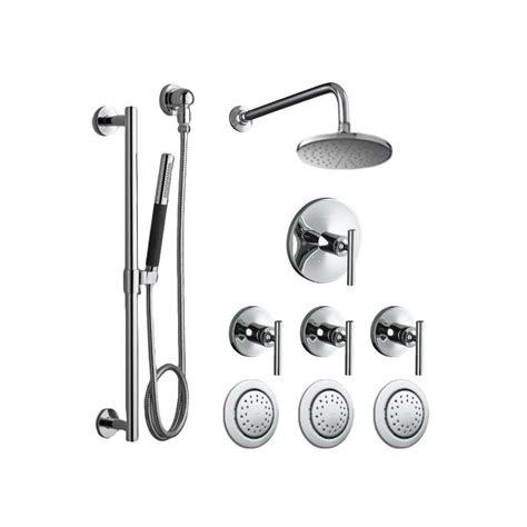 Best Prices On Kitchen Faucets faucet com k purist shwr system 3bs cp in polished
