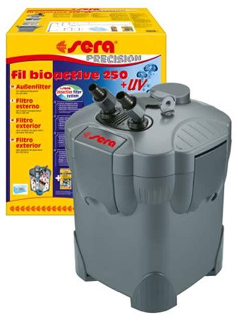 uv l zeeaquarium filtro sera fil bioactive 250 uv c exterior acuarios