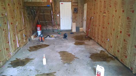 Garage Floor Paint Houston Tx Rust Bullet Garage Floor Coating Project Houston Tx