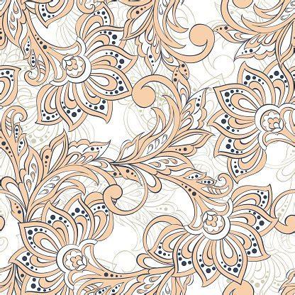 batik pattern psd vintage pattern in indian batik floral vector background