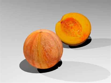 peach model peach 3d model max 3ds cgtrader com