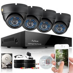 home security cameras outdoor funlux 960h 8ch hdmi dvr outdoor home surveillance