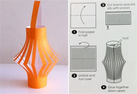 How To Make A Paper Lantern Step By Step - how to make paper lanterns in 4 easy steps