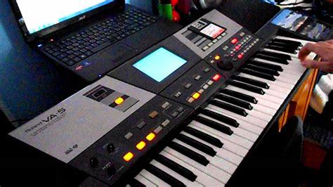 Keyboard Roland Va 5 remix by roland va 5 v vijelie avi