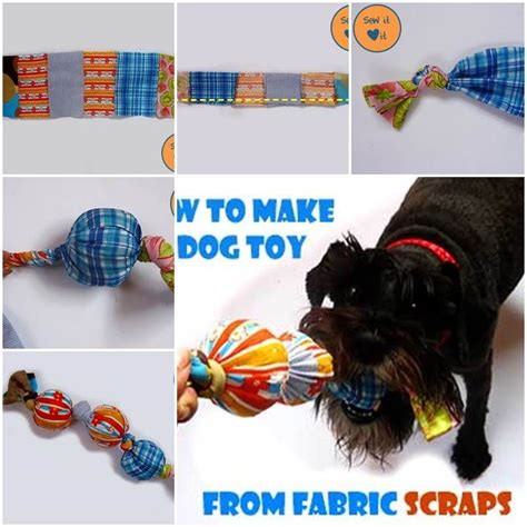 fabric crafts for dogs diy toys from fabric scraps diy pets projects diy