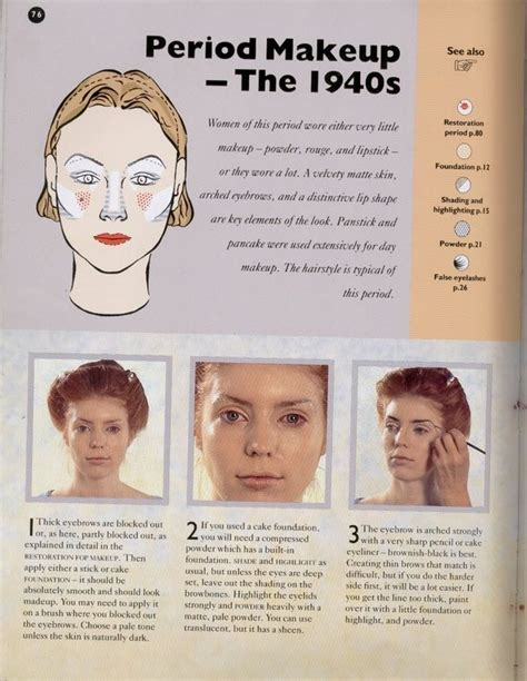 step by step how to do a 1940s updo 1 created 2009 2 1940 s make up tutorial 3 http
