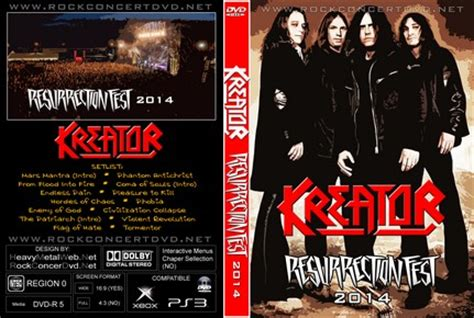 kreator pleasure to kill live at resurrection fest 2014 kreator live at the resurrection fest 2014 dvd