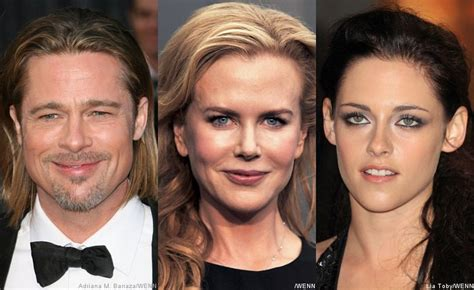 Kidman Pitt Promote Documentary brad pitt kidman and kristen stewart to premiere