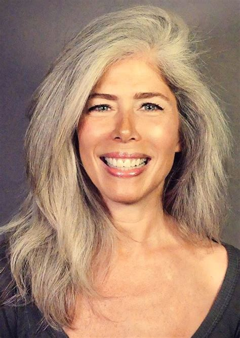 pictures of grey hairstyles with permanent 6047 best glorious grey images on pinterest white hair