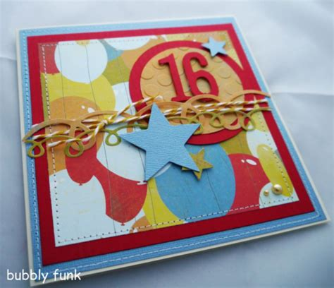16 Year Boy Birthday Card Card 16th Birthday Bubbly Scrumptious