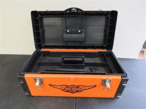 Harley Davidson Toolbox by Harley Davidson Tool Box August Auction 2 K Bid
