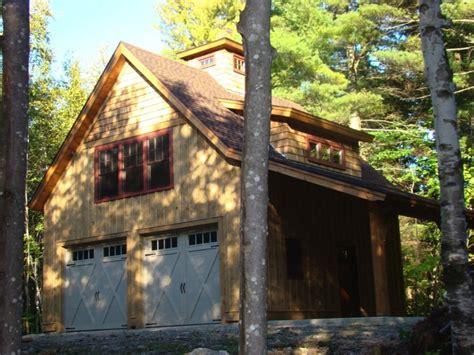 Timber Frame Garage With Living Quarters by Pond Shores Portfolio Grand View Log Timber Frames