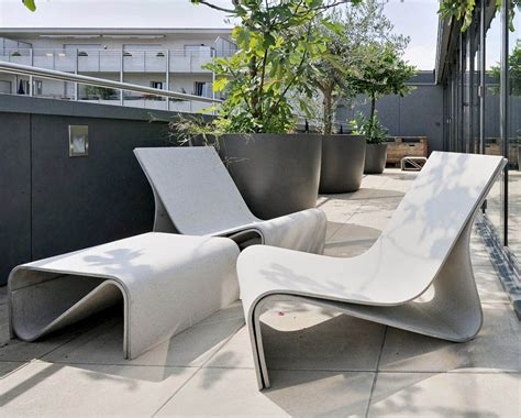Concrete Patio Furniture by Pleasant And Durable Concrete Patio Furniture Home Ideas