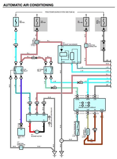 lexus es300 blower motor wiring diagrams wiring diagram