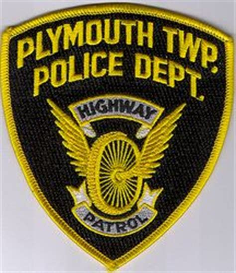 plymouth twp pa plymouth twp highway patrol dept patch pa