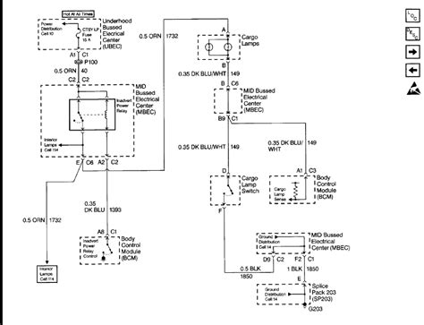 wiring diagram for cargo light switch i think my 1999 is