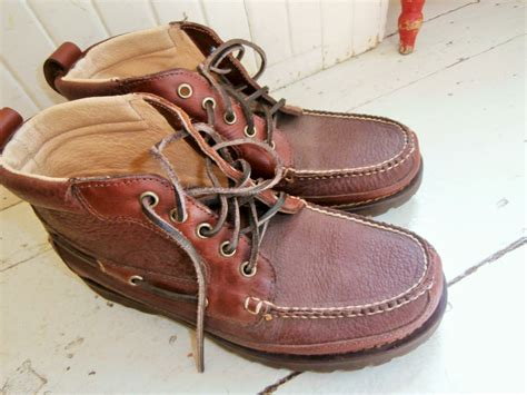 ll bean bison boots authentic ll bean cowhide and bison leather chukka boot