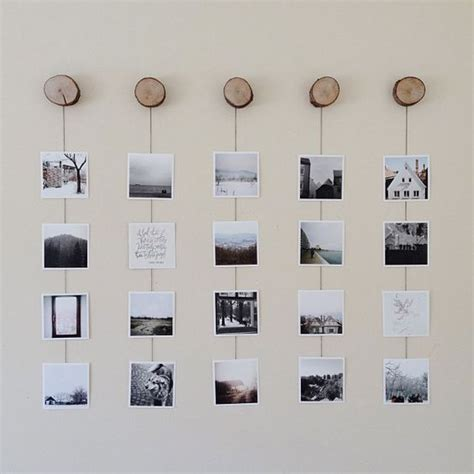 How To Hang Photo Frames On Wall Without Nails | photo wall collage without frames 17 layout ideas photo