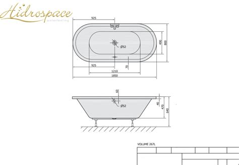 vasche da bagno ovali sol 175 185x80 vasca da bagno ovale
