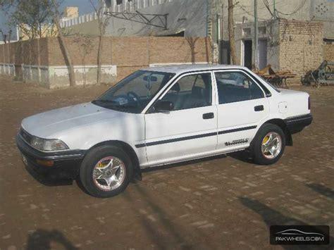 Toyota Corolla 1989 Toyota Corolla 1989 For Sale In Haroonabad Pakwheels