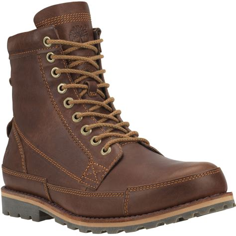 Timberlan Boots timberland earthkeepers rugged original leather 6 quot boot