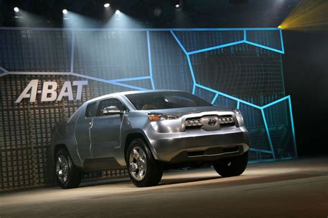 Toyota Abat Detroit 2008 Toyota A Bat Concept Live Reveal Photo