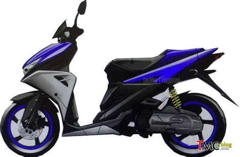 Cover Side Yamaha Aerox 125 Original Blue yamaha aerox 125 lc specifications and price leaked